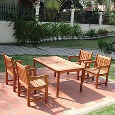 <strong>Vifah</strong> Balthazar 5 Piece Dining Set