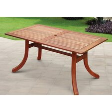 <strong>Vifah</strong> Atlantic Rectangular Dining Table