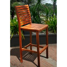 Outdoor Wood Bar Chair