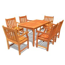 <strong>Vifah</strong> 7 Piece Dining Set