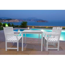 Bradley 4 Piece Dining Set