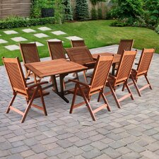 <strong>Vifah</strong> Vifah 9 Piece Dining Set