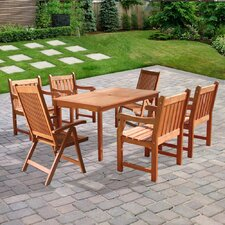 <strong>Vifah</strong> Balthazar 7 Piece Dining Set