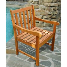 <strong>Vifah</strong> Outdoor Wood Nobi Armchair