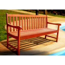 Outdoor Nobi Wood Garden Bench