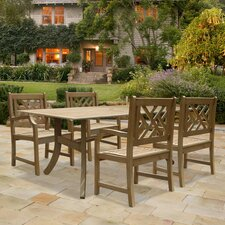 Renaissance 5 Piece Dining Set
