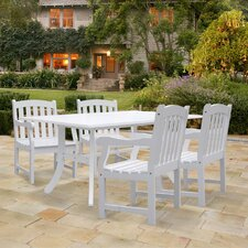 <strong>Vifah</strong> Bradley 5 Piece Dining Set