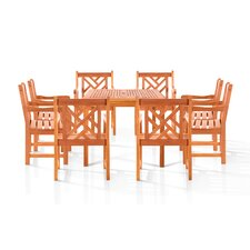<strong>Vifah</strong> Melborne 9 Piece Dining Set
