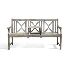Renaissance Softcross Acacia Garden Bench