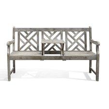 Renaissance Atlantic Acacia Garden Bench