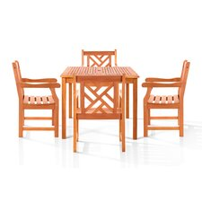 Danis 5 Piece Dining Set