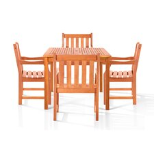 <strong>Vifah</strong> Monique 5 Piece Dining Set