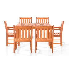 Esalen 7 Piece Dining Set