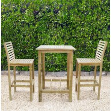 Renaissance 3 Piece Dining Set