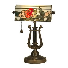 <strong>Dale Tiffany</strong> Broadview Bankers 1 Light Table Lamp