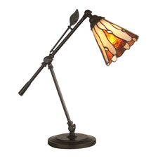 Tiffany Leaf 1 Light Table Lamp