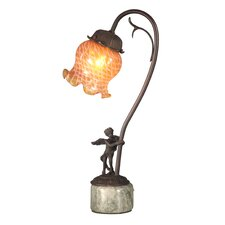 <strong>Dale Tiffany</strong> Cherub Base 1 Light Table Lamp