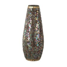 Peacock Grande Vase