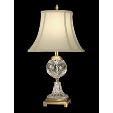 "24"" H 1 Light Crystal Table Lamp"