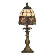 """Enid 14.5"""" H Table Lamp with Bowl Shade"""