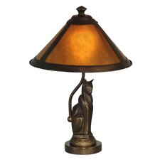 """Ginger 17"""" H Table Lamp with Empire Shade"""