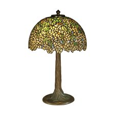 Wisteria Tiffany 2 Light Table Lamp