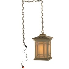 Mission 1 Light Foyer Pendant
