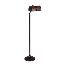 Mica 1 Light Egyptian Floor Lamp