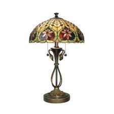 "Tiffany 26"" H Table Lamp with Bowl Shade"