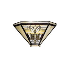 <strong>Dale Tiffany</strong> Oakpark Mission 1 Light Wall Sconce
