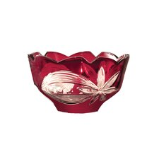 Floral Bowl in Red
