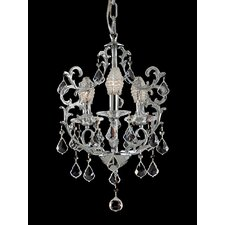 Buchanon 3 Light Crystal Chandelier