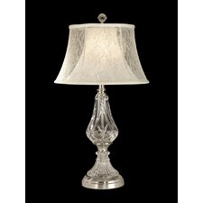 "26.5"" H 1 Light Crystal Table Lamp"