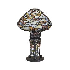 <strong>Dale Tiffany</strong> Papillion 1 Light Table Lamp