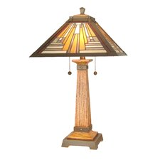 <strong>Dale Tiffany</strong> Thunder Bay 2 Light Table Lamp