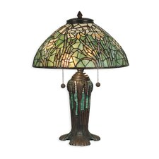 <strong>Dale Tiffany</strong> 2 Light Table Lamp