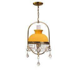 Diego Hurricane 1 Light Foyer Pendant