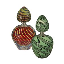 2-Piece Swirl Perfume Bottle