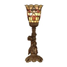 Tiffany Mission Style 1 Light Table Lamp