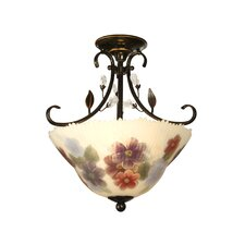 <strong>Dale Tiffany</strong> Light Semi Flush Mount