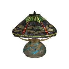 <strong>Dale Tiffany</strong> Dragonfly Medley 3 Light Table Lamp