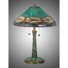 Museum Cone Dragonfly Table Lamp