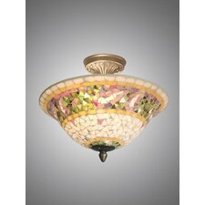 Bradshaw Mosaic Semi Flush Mount