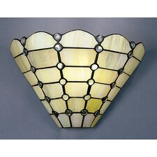 Floral Series 1 Light Geometric Wall Sconce