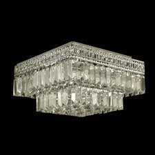 Crystal 5 Light Flush Mount