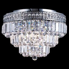 <strong>Dale Tiffany</strong> Bradford 9 Light Flush Mount