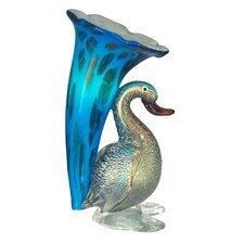 <strong>Dale Tiffany</strong> Duck Lily Favrile 1 Light Table Lamp