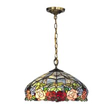 Zenia Rose 1 Light Pendant