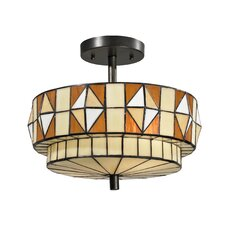 Westcott 2 Light Semi-Flush Mount