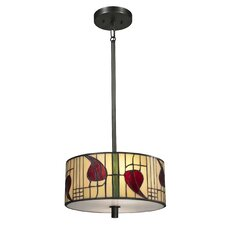 <strong>Dale Tiffany</strong> Mackintosh 2 Light Pendant